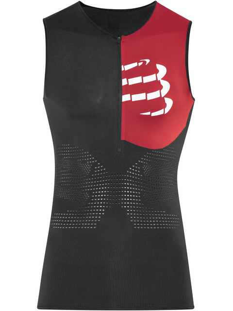 Compressport Triathlon Postural Aero Tank Top Men Black